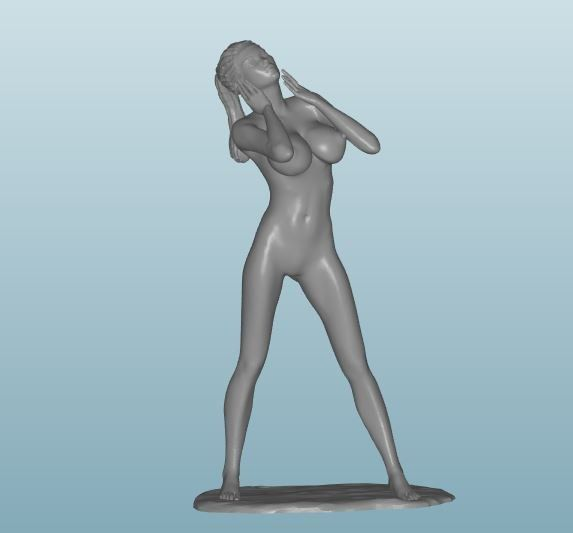 Plastic resin Figure 18+(Z159)
