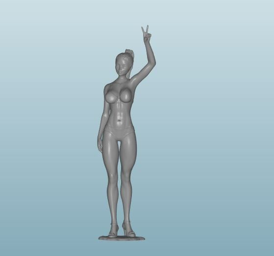 Plastic resin Figure 18+(Z172)