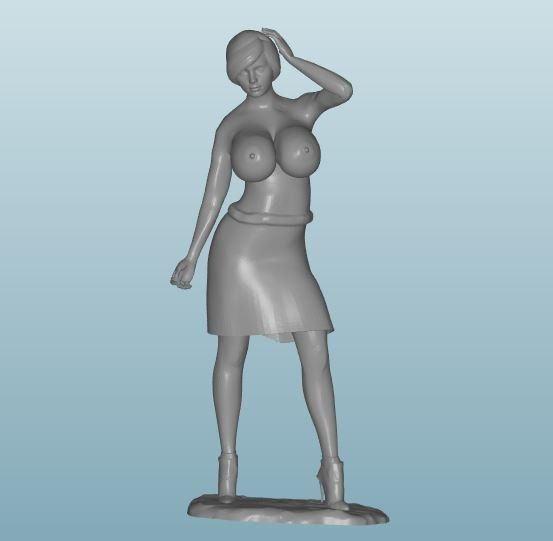 Plastic resin Figure 18+(Z186)