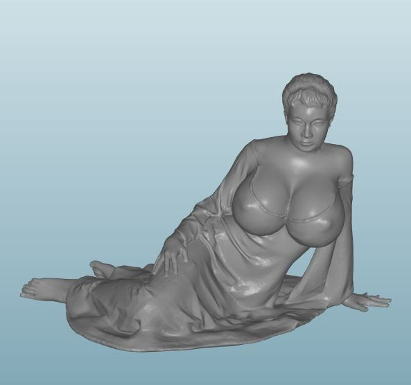 Plastic resin Figure 18+(Z276)