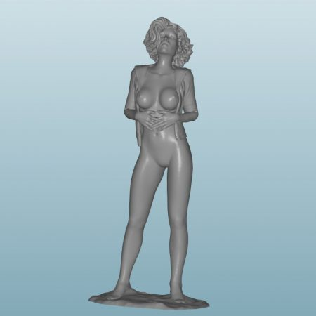 Plastic resin Figure 18+(Z49B)