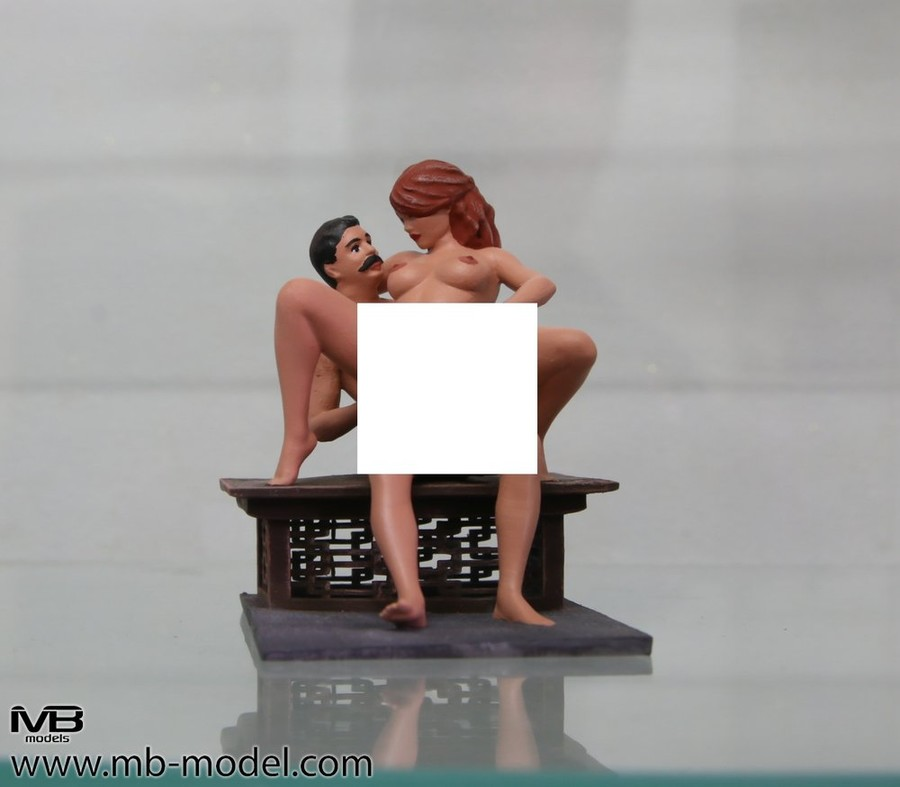 Painted Figure of Sex (D36)