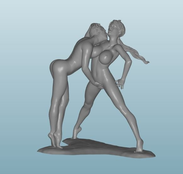 Painted Figure of Sex (D39)
