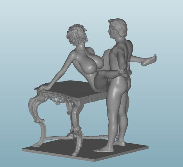 Painted Figure of Sex (Z315)