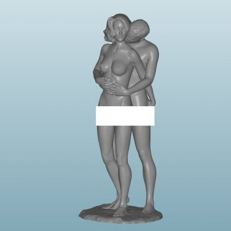Painted Figure of Sex (Z43A)