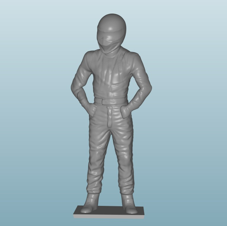 Painted Figure of Man (Z800)