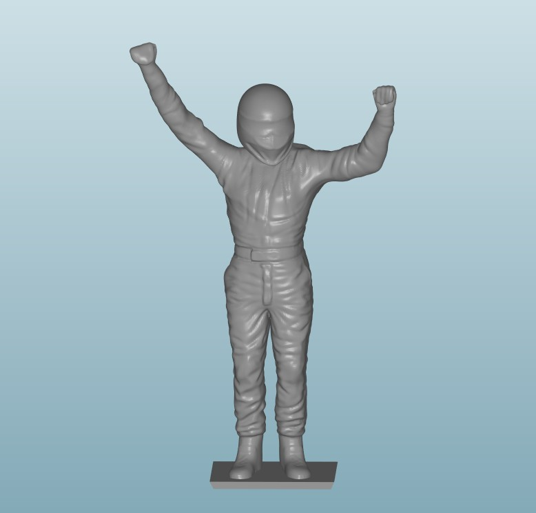 Painted Figure of Man (Z801)