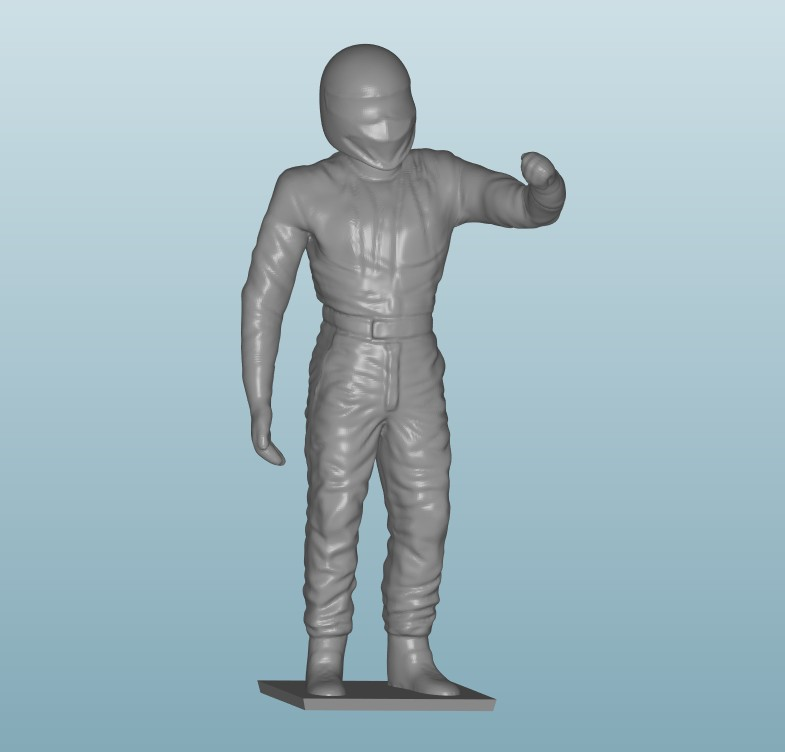 Painted Figure of Man (Z802)